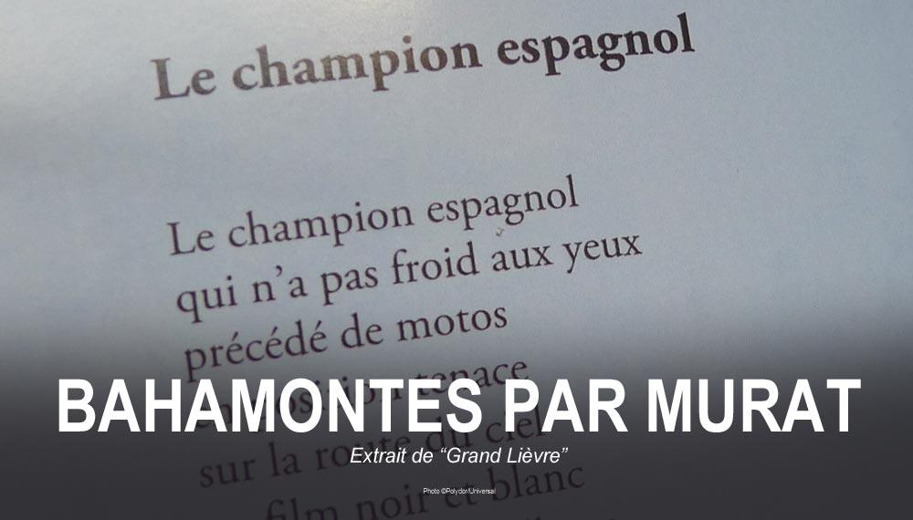 MURAT Le champion espagnol