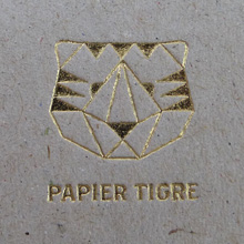 PAPIER TIGRE Carnet rayé