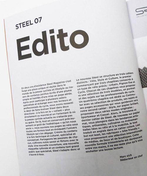 STEEL n°7 Printemps 2014