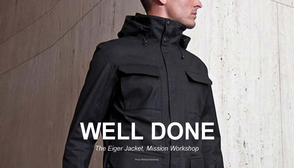 THE EIGER JACKET Mission Workshop