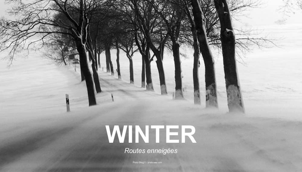 WINTER RIDES Routes enneigées